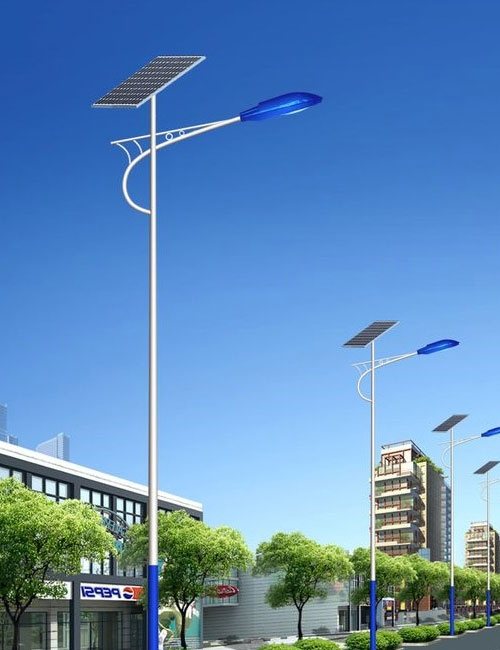 智慧太阳能路灯