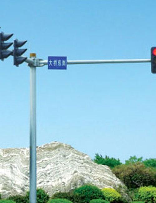 信号灯道路
